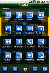 ADW Theme Brazil- screenshot thumbnail
