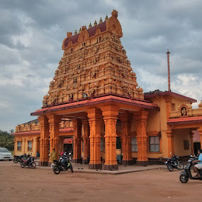 Durgaparmeshwari Temple ,Mangalore by Hiresh Suvarna - Buildings & Architecture Places of Worship
