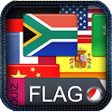 Flags quiz of the world icon