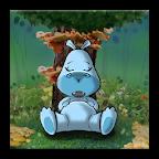 Sleepy Hippo Live Wallpaper