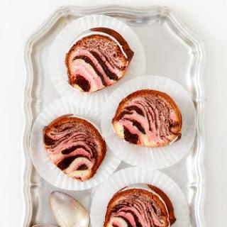 Neapolitan Zebra Bundt Cake