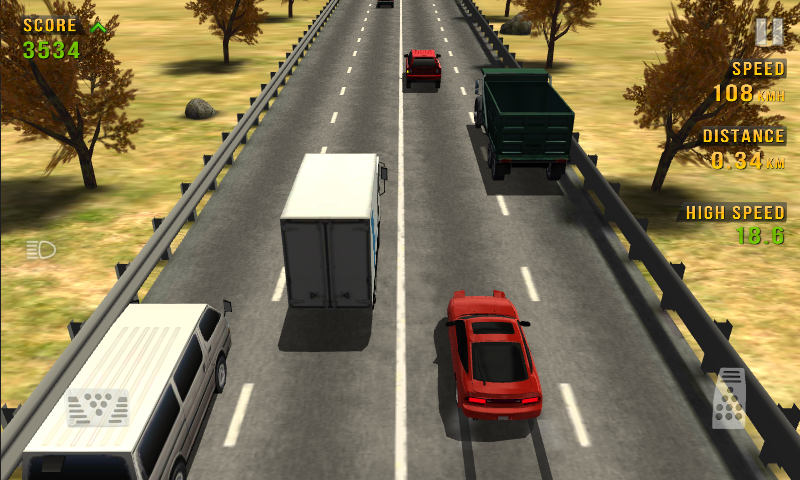 Traffic Racer: captura de tela