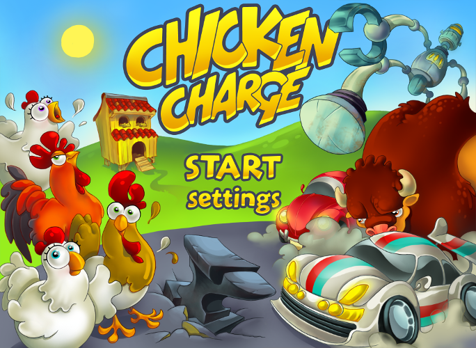 Chicken Charge- screenshot