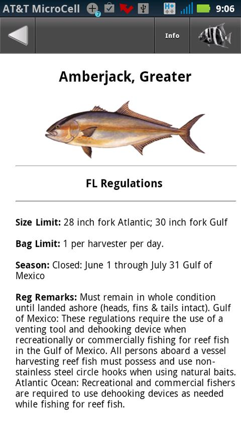 Tx sw fisghing regulations android apps on google play for Texas fish size limits