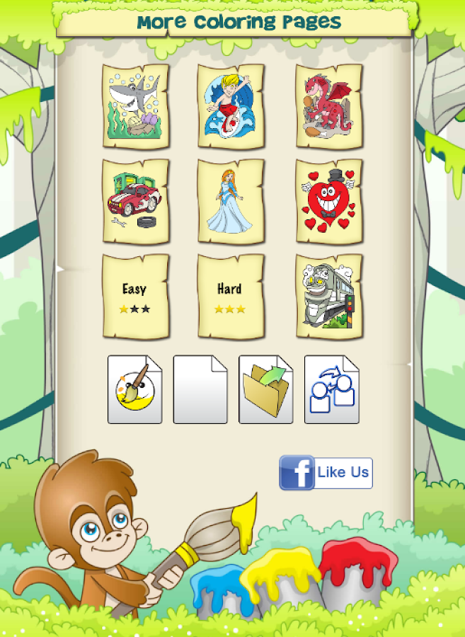 Painting free game for kids android apps on google play for Google paint online