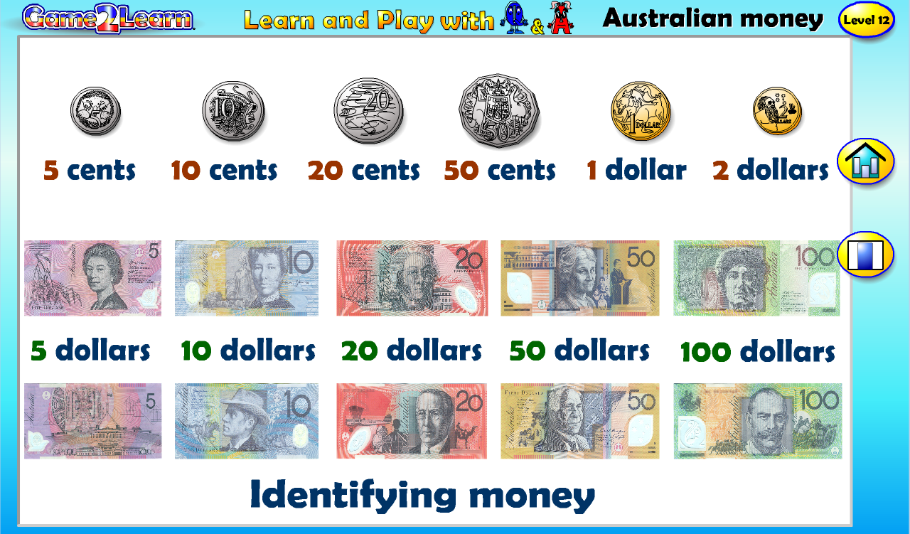 Australian money with Q&A - Android Apps on Google Play