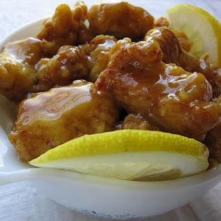 Chinese Lemon Chicken.