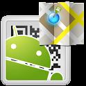 QR-GPS Plugin™ logo