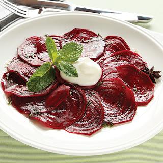 Pickled Beet Carpaccio