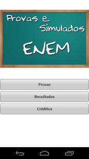 Provas e Simulados ENEM - screenshot thumbnail