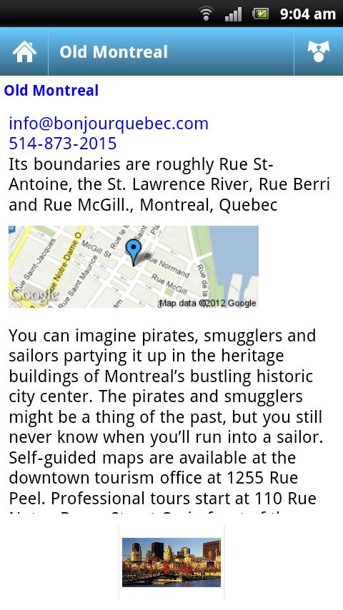 Bump! Montreal- screenshot