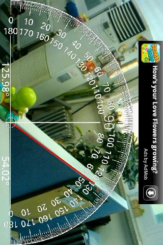 AR Protractor v3 각도기- screenshot