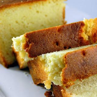 Honey Vanilla Pound Cake.