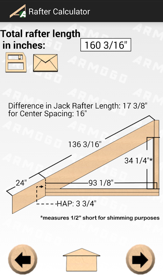 Rafter Calculator Android Apps On Google Play: new construction calculator