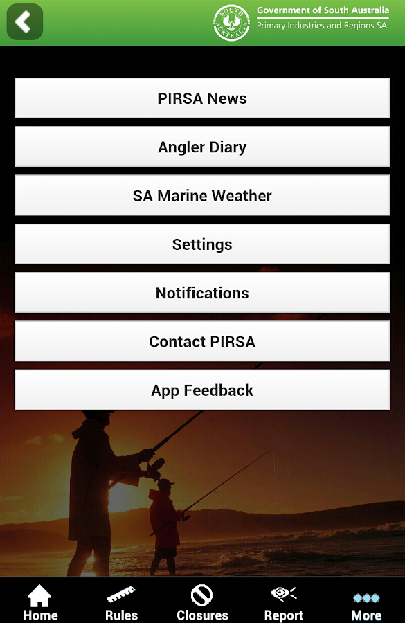 SA Recreational Fishing Guide- screenshot