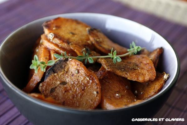 Spicey Sweet Potatoes Recipe