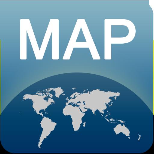 孟菲斯离线地图 LOGO-APP點子