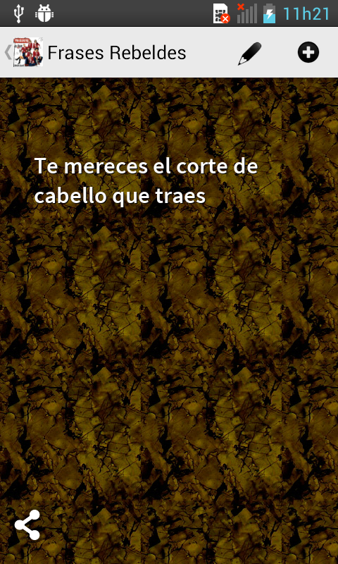 Frases Rebeldes - screenshot