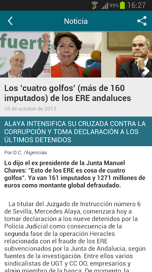La Gaceta- screenshot