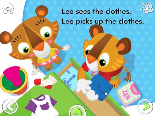 【免費教育App】[Lead21] Leo Makes a Mess-APP點子