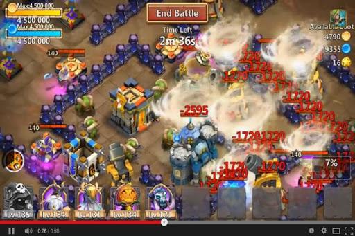 Tips Cheats Castle Clash