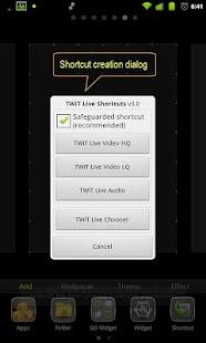 TWiT Live Shortcuts- screenshot thumbnail