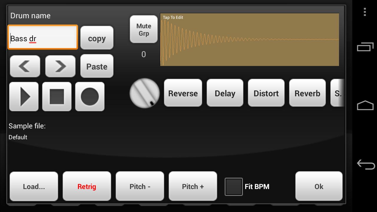 Electrum Drum Machine/Sampler screenshot #3