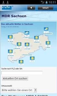 MDR Sachsen - screenshot thumbnail
