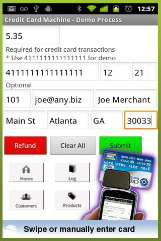 Credit Card Machine - Accept- screenshot
