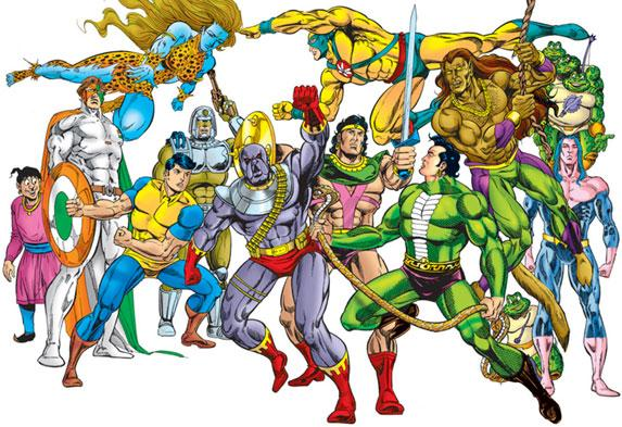 Raj Comics Wallpapers