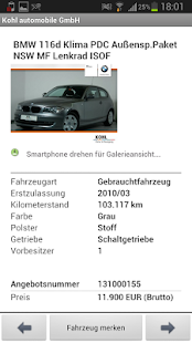 KOHL automobile- screenshot thumbnail