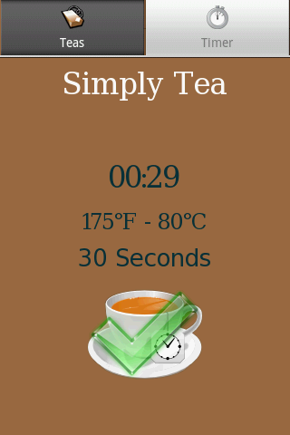 Simply Tea - screenshot