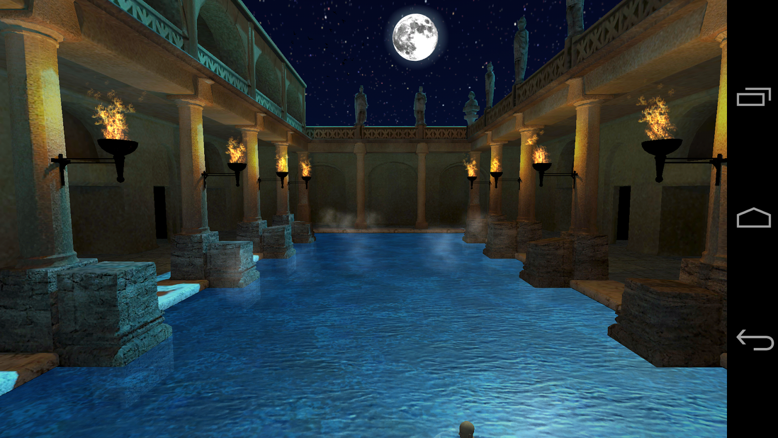 Roman bath 3d live wallpaper android apps on google play for Bathroom 3d wallpaper