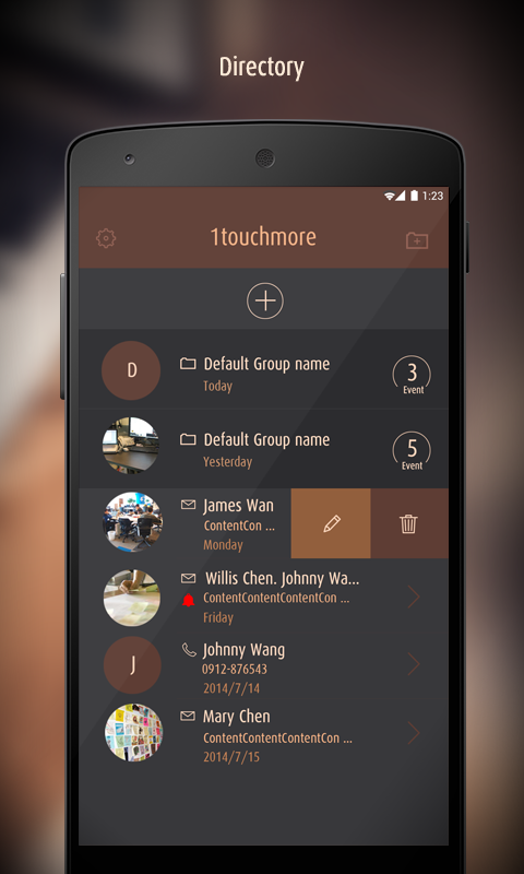 1TouchMore (Speed Dial & SMS)- screenshot