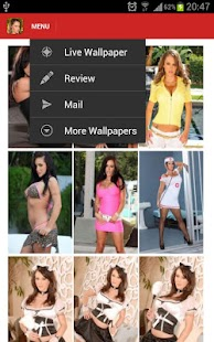 Jenna Presley Live Wallpaper - screenshot thumbnail