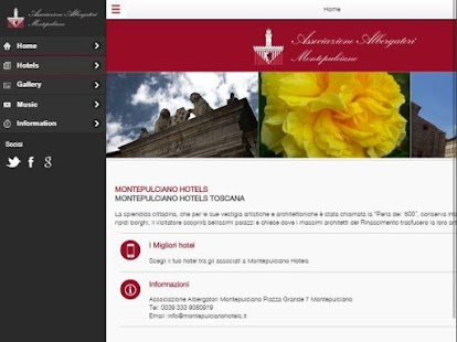 Montepulciano Hotels- screenshot thumbnail