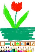 Screenshot of Kiddy Paint! Free