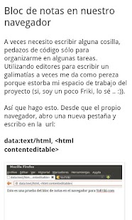 Yo Friki Blog - screenshot thumbnail