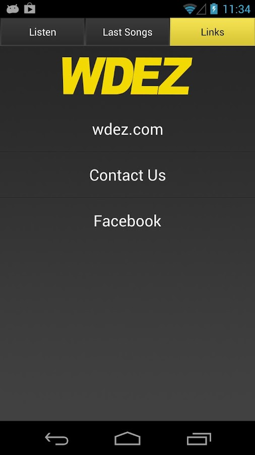 101.9 WDEZ - screenshot
