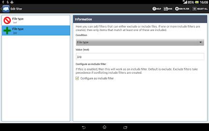 FolderSync Screenshot 5