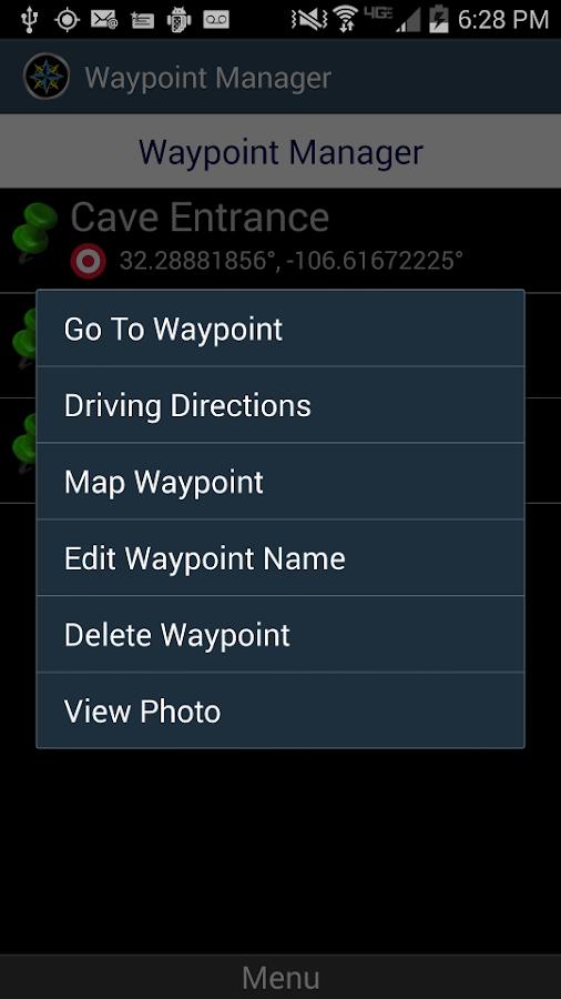 Polaris Navigation GPS - screenshot