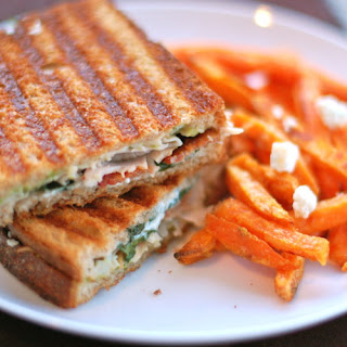 Gorgonzola and Bacon Panini.