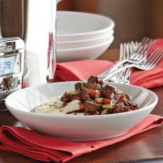 Steak and Mushroom Stew.