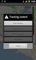 Screenshot of Open GPS Tracker