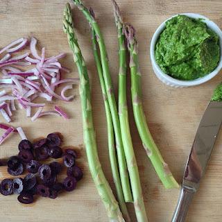 Pesto Quinoa Veggie Salad