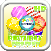 Birthday Floating Presents HD