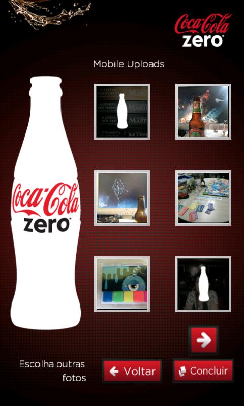Coke Zero - screenshot