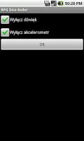 Screenshot of RPG Dice Roller