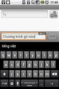 GoTiengViet 3 Vietnamese input- screenshot thumbnail