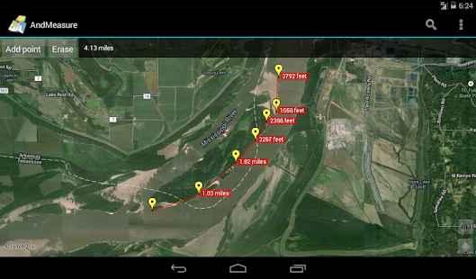 AndMeasure (Area & Distance) - screenshot thumbnail